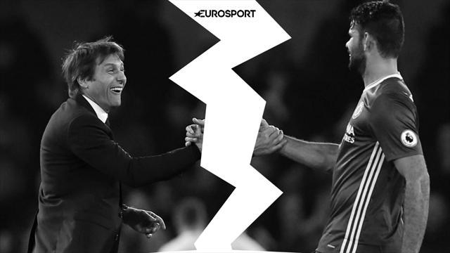 Форвард «Челси» Диего Коста пропустит матч с«Лестером» из-за ссоры сКонте