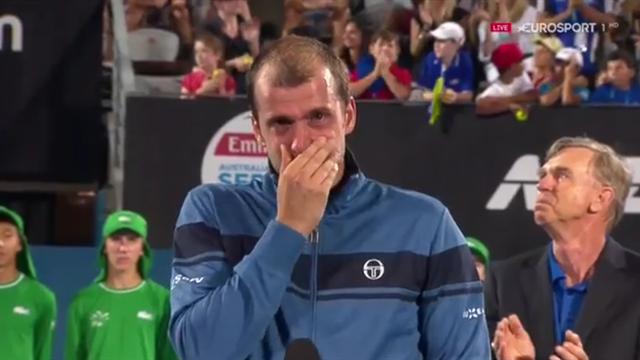 Gilles Muller vince il primo titolo a 33 anni e scoppia in lacrime