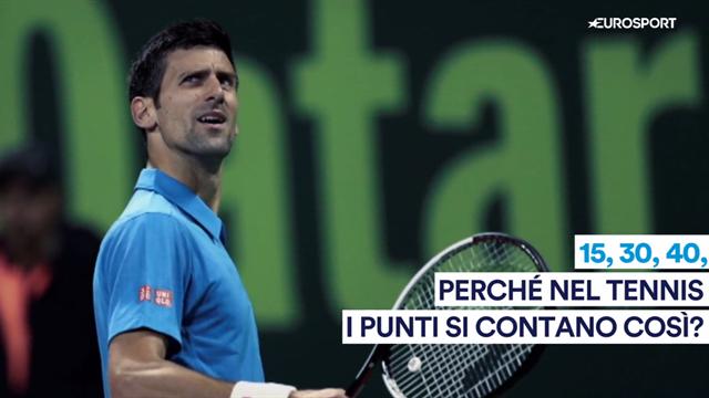 15, 30, 40: perché nel tennis i punti si contano così?