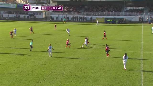 Alex Morgan décisive pour sa première : le premier but de Lyon en vidéo