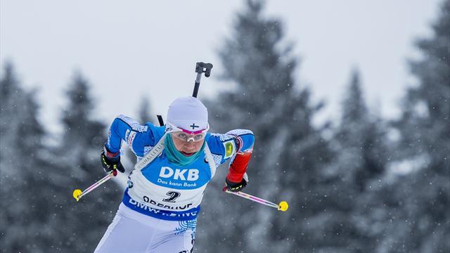 Première pour Mäkäräinen, Dorin-Habert au pied du podium