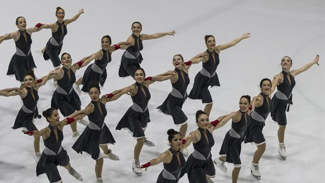 Senkronize Buz Pateni Türkiye Şampiyonası başladı