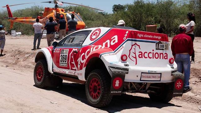 ACCIONA EcoPowered, el coche español que ha hecho historia en el Dakar