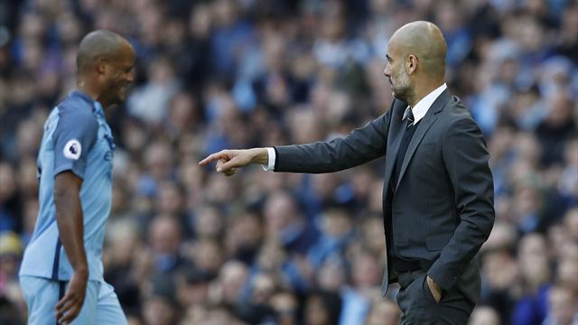 """Guardiola : """"Kompany sait ce qu'il doit faire"""""""