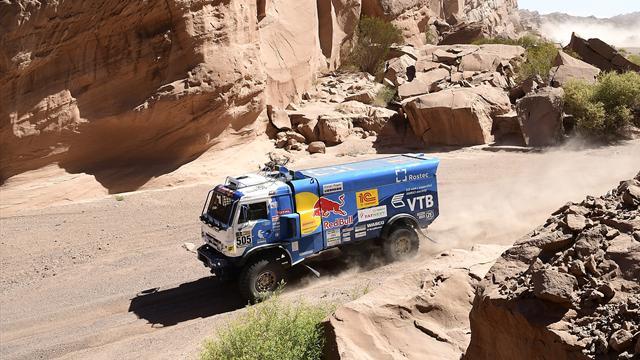 Николаев выиграл «Дакар-2017» в классе грузовиков