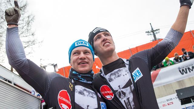 Deutschlands Bob-Elite dominiert die Konkurrenz