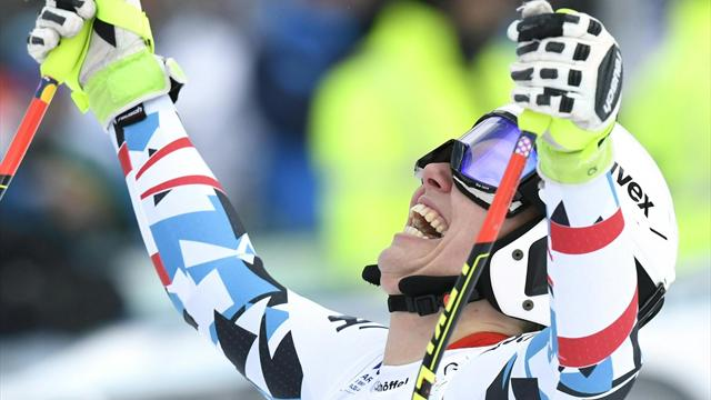 Scheyer a surpris tout le monde, Vonn se contente d'une 13e place pour son retour