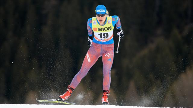Россия выиграла серебро в женском командном спринте по лыжным гонкам