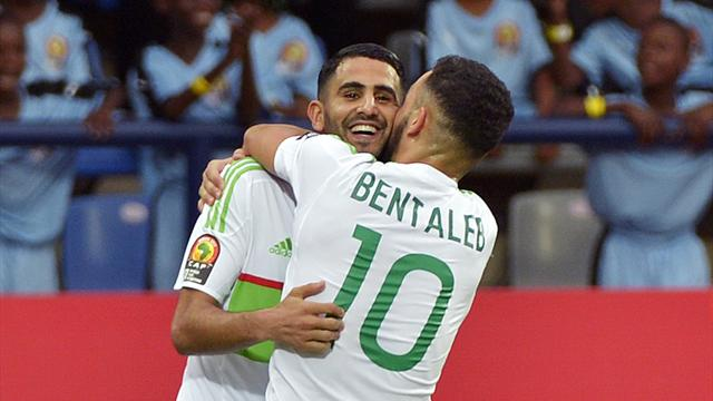 Mahrez stars but Algeria held by Zimbabwe