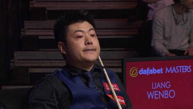 Wenbo misses black to beat O'Sullivan at Masters