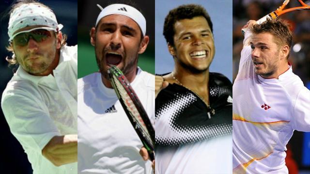 Clément, Baghdatís, Tsonga… Les performances inattendues de l'Open d'Australie