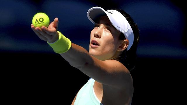 Garbiñe Muguruza-Shuai Zhang: Demasiada tralla en un día (6-7(3), 6-3 y 5-7)