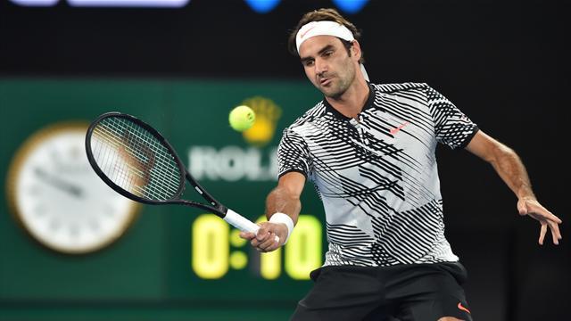 Federer vence a Melzer y firma un partido redondo (7-5, 3-6, 6-2 y 6-2)