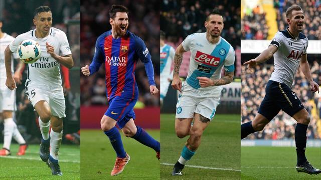 Messi, Hamsik, Kane : triplette de rêve pour une attaque de feu
