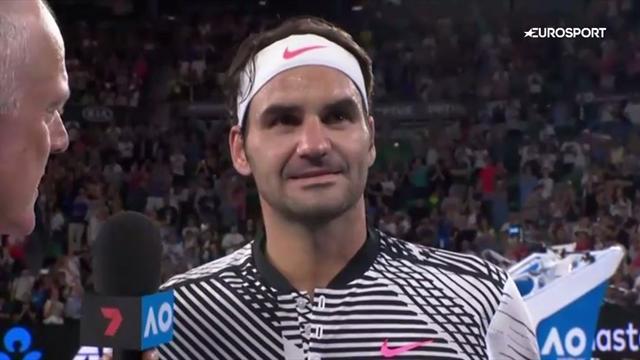 Federer: It felt a bit like coming home