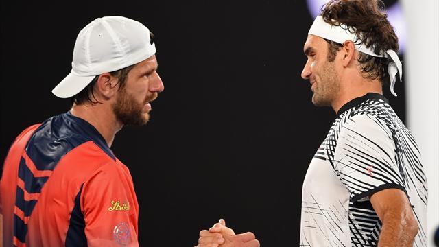 Tennis : Même nerveux et en manque de rythme, Federer n'a pas raté son retour