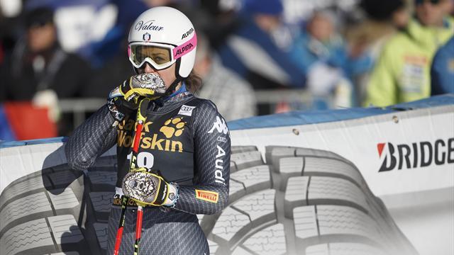 """Nadia Fanchini: """"E' crollato tutto ma lotterò per prendermi la mia rivincita alle Olimpiadi"""""""