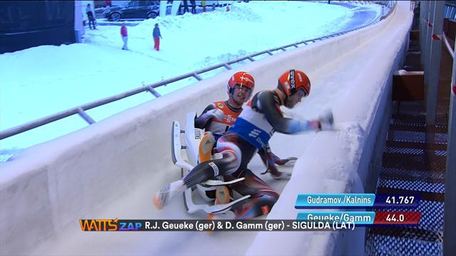 Watts: Crazy crashes and funny falls on the ice