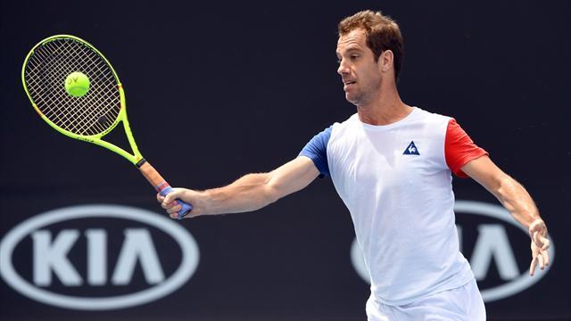 Tennis : Gasquet prend la porte d'entrée