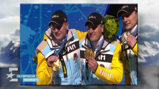 """Olympische Momente: 2010 - """"Bärchen"""" Lange als Goldhamster"""