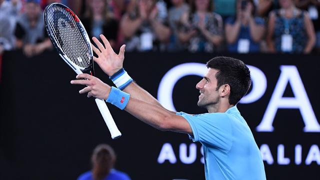Chez lui à Melbourne, Djokovic a de nouveau les crocs