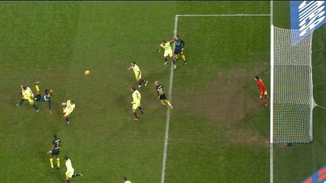 D'un ciseau retourné exceptionnel, Murillo marque déjà l'un des buts de l'année