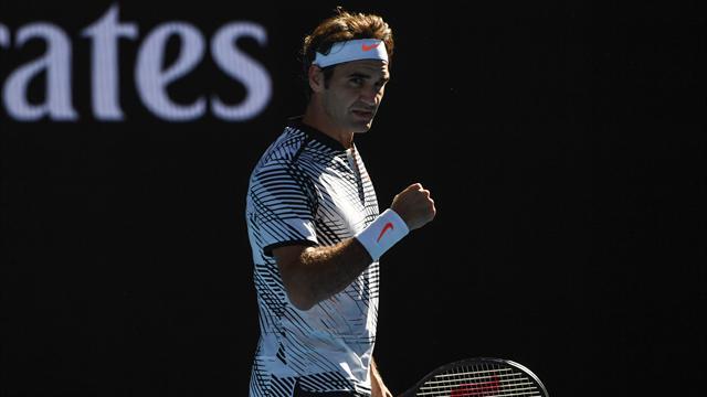 Même en demi-teinte, Federer est passé en trois sets