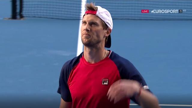 Seppi: Bello battere Kyrgios, ma il ko a Federer fu un'altra cosa