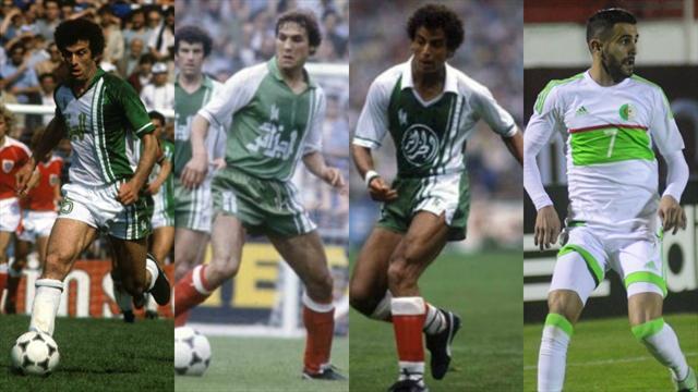 Dahleb, Madjer, Belloumi, Mahrez… Les 10 plus grands joueurs algériens de l'histoire