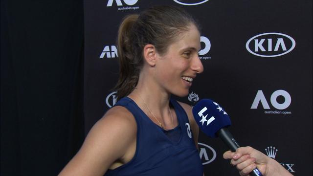 VIDEO - Konta: I love this court... I got better as the match went on