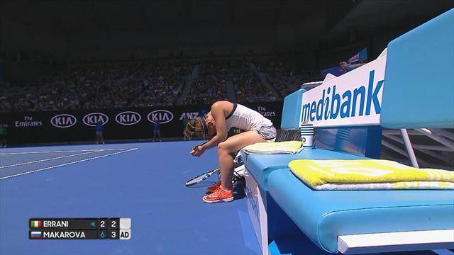 Australian open, Fognini eliminato cede a paire al quinto