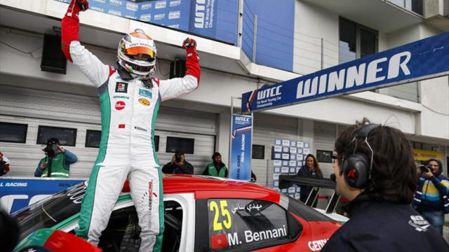 Remembering when… Bennani won in the WTCC for Morocco in Hungary