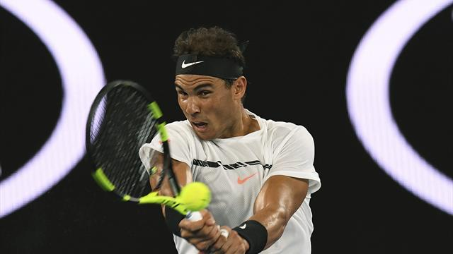 Australian Open 2017, Baghdatis-Nadal: Como un bólido (3-6, 1-6 y 3-6)