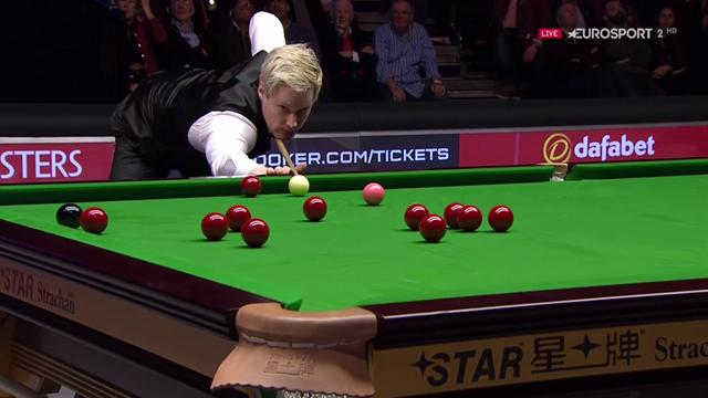 Neil Robertson ousts Rhys Clark at Gibraltar Open