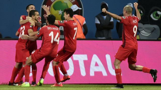 Disastro Ghoulam! E la Tunisia gode nel derby del Maghreb. Senegal ai quarti: già vinto il girone B