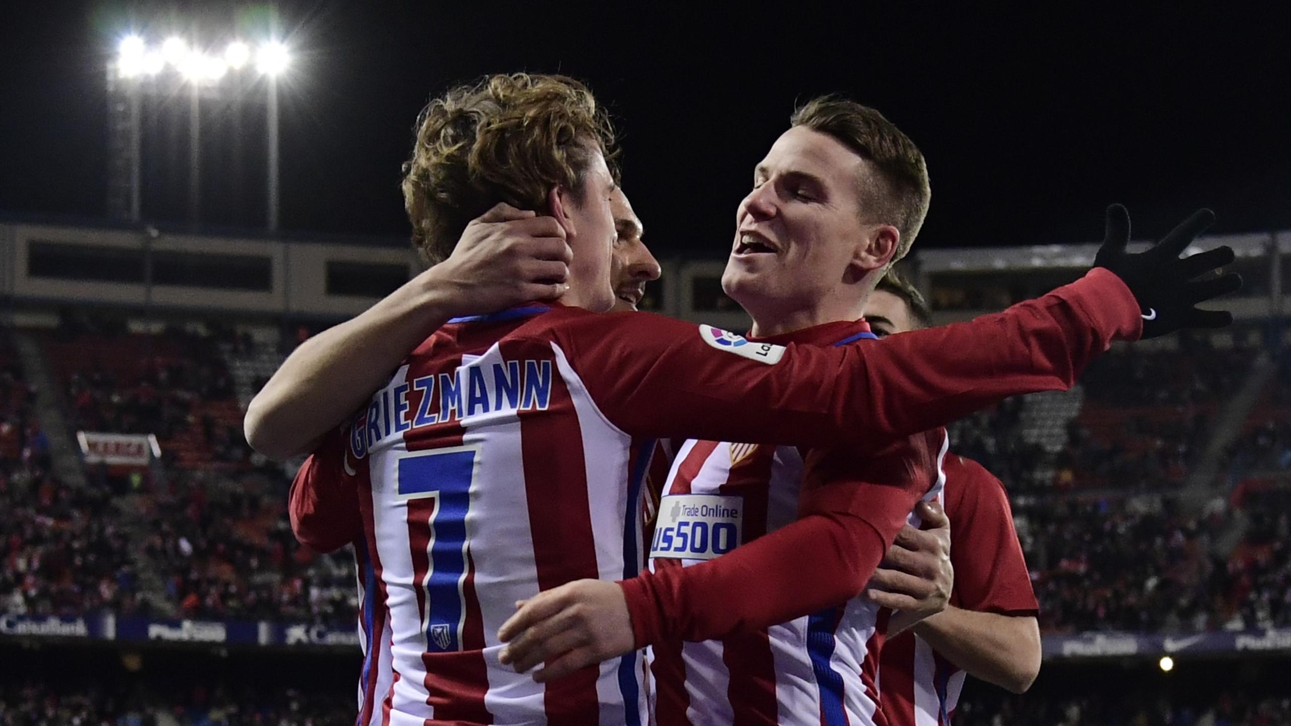 Griezmann et Gameiro (Atlético)