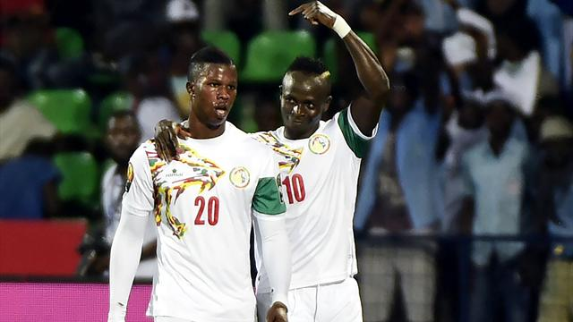 Mane and Saivet's stunner send Senegal through