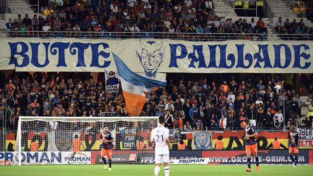 A Montpellier, les supporters ont choisi leur camp et manifestent leur soutien à Hantz