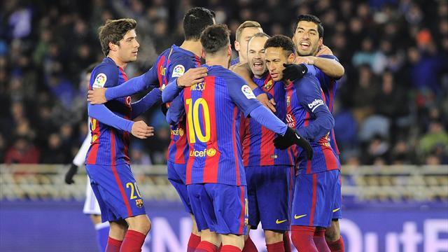 Dix ans après, le Barça a vaincu la malédiction d'Anoeta