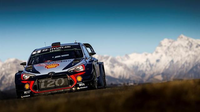 Fallece el espectador herido durante la primera especial del Rally de Montecarlo