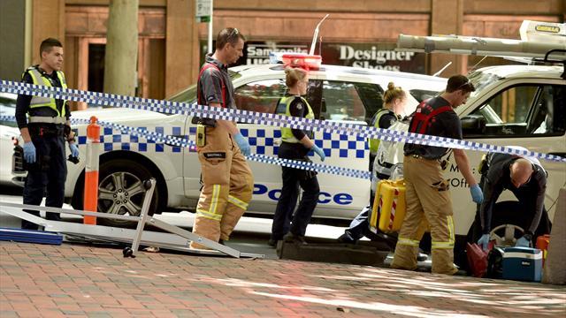 Водитель врезался в толпу и убил троих человек возле кортов Australian Open