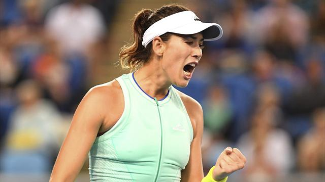 Garbiñe Muguruza-Cagla Buyukakcay: Debut con paso firme en el WTA de Catar (6-3 y 6-2)