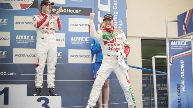 Honda WTCC team salutes departing Huff
