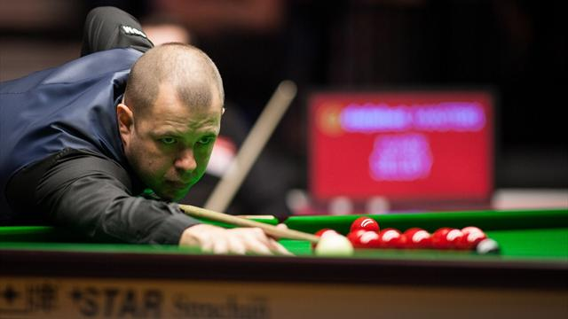Hawkins ends Selby hopes of fourth Masters title, Perry dismantles Ding