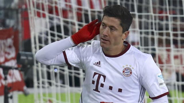 Grâce à un Lewandowski royal, le Bayern s'en est sorti in extremis