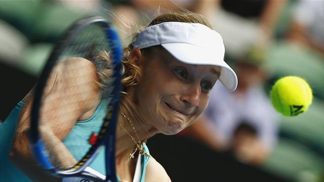 Makarova, l'Australia ti fa bella; ok Serena Williams, Pliskova col brivido