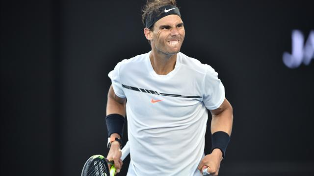 Après 4h05 de combat, la balle de match qui a libéré Nadal