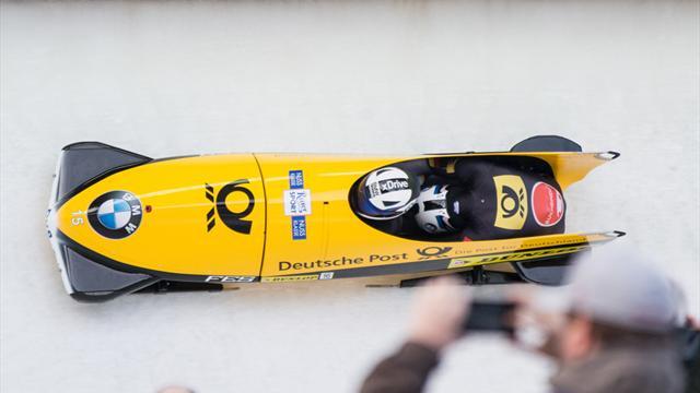Bob: Lochner und Friedrich holen Doppelsieg im Zweier