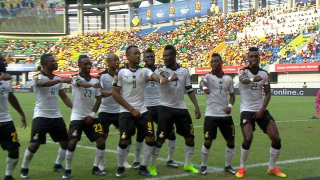 Gana erken turladı