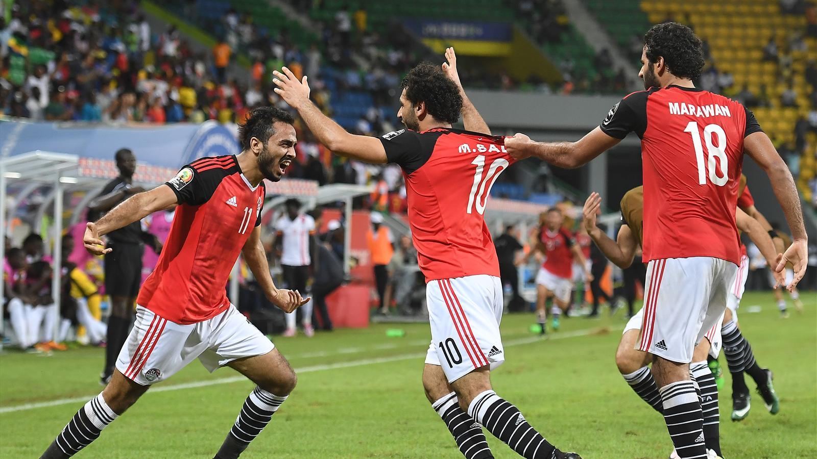 Sans convaincre l 39 egypte se rapproche des quarts coupe d 39 afrique des nations 2017 football - Resultat foot coupe d afrique ...